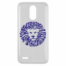 Чехол для LG K10 2017 лев - FatLine