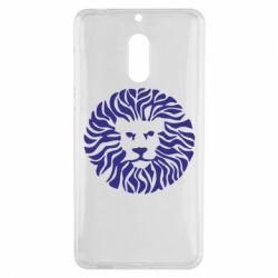 Чехол для Nokia 6 лев - FatLine