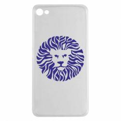 Чехол для Meizu U20 лев - FatLine