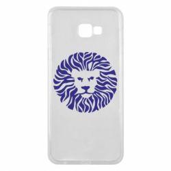 Чехол для Samsung J4 Plus 2018 лев