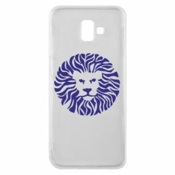 Чехол для Samsung J6 Plus 2018 лев