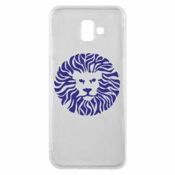 Чехол для Samsung J6 Plus 2018 лев - FatLine
