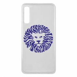 Чехол для Samsung A7 2018 лев - FatLine