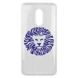 Чехол для Meizu 16 plus лев - FatLine