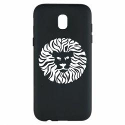 Чехол для Samsung J5 2017 лев - FatLine