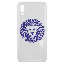 Чехол для Meizu E3 лев - FatLine