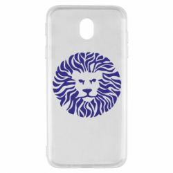 Чехол для Samsung J7 2017 лев - FatLine