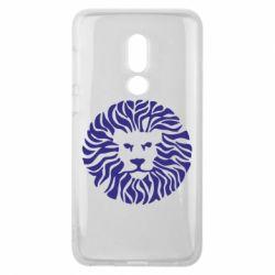 Чехол для Meizu V8 лев - FatLine