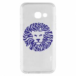Чехол для Samsung A3 2017 лев - FatLine