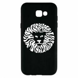 Чехол для Samsung A7 2017 лев - FatLine