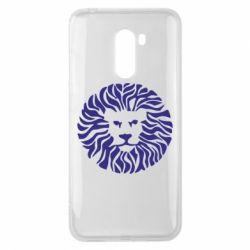 Чехол для Xiaomi Pocophone F1 лев - FatLine
