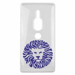 Чехол для Sony Xperia XZ2 Premium лев - FatLine