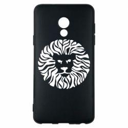 Чехол для Meizu 15 Lite лев - FatLine