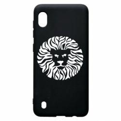 Чехол для Samsung A10 лев - FatLine