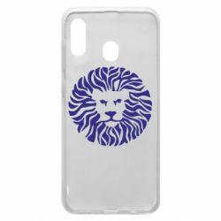 Чехол для Samsung A20 лев - FatLine