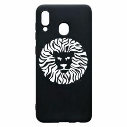 Чехол для Samsung A30 лев - FatLine