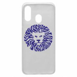 Чехол для Samsung A40 лев - FatLine