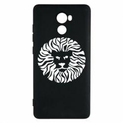 Чехол для Xiaomi Redmi 4 лев - FatLine