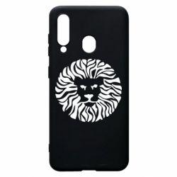 Чехол для Samsung A60 лев - FatLine
