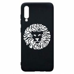 Чехол для Samsung A70 лев - FatLine