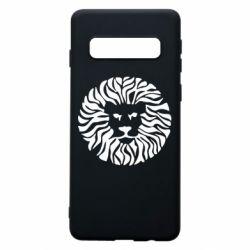 Чехол для Samsung S10 лев - FatLine