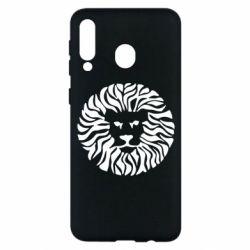 Чехол для Samsung M30 лев - FatLine