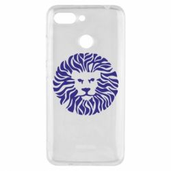 Чехол для Xiaomi Redmi 6 лев - FatLine