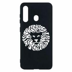 Чехол для Samsung M40 лев - FatLine