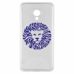 Чехол для Meizu M5 лев - FatLine