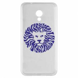 Чехол для Meizu M5s лев