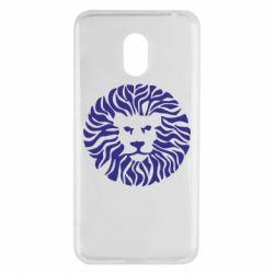Чехол для Meizu M6 лев - FatLine