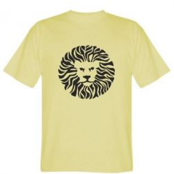 Мужская футболка лев - FatLine