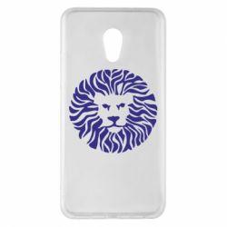 Чехол для Meizu Pro 6 Plus лев - FatLine
