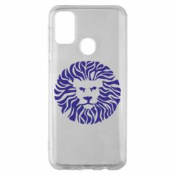 Чехол для Samsung M30s лев