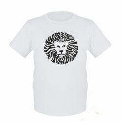 Детская футболка лев - FatLine