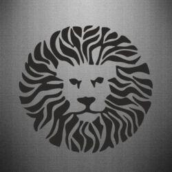 Наклейка лев