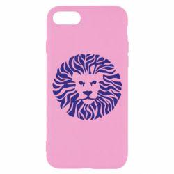 Чехол для iPhone 7 лев - FatLine