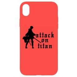 Чохол для iPhone XR Levi from Attack on Titan