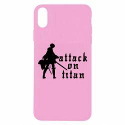 Чохол для iPhone Xs Max Levi from Attack on Titan