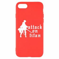 Чохол для iPhone 7 Levi from Attack on Titan