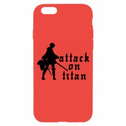 Чохол для iPhone 6/6S Levi from Attack on Titan