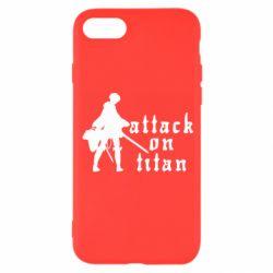 Чохол для iPhone 8 Levi from Attack on Titan