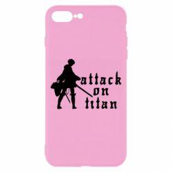 Чохол для iPhone 8 Plus Levi from Attack on Titan