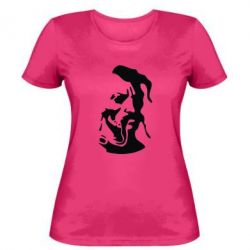 Женская футболка Лице козака - FatLine