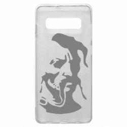 Чехол для Samsung S10+ Лице козака