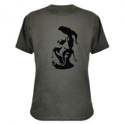 Камуфляжная футболка Лице козака - FatLine