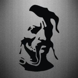 Наклейка Лице козака - FatLine