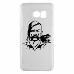 Чехол для Samsung S6 EDGE Лице українського козака - FatLine