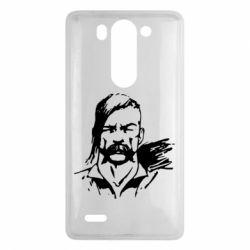 Чехол для LG G3 mini/G3s Лице українського козака - FatLine