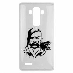 Чехол для LG G4 Лице українського козака - FatLine